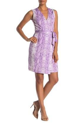 Diane von Furstenberg Yahzi Sleeveless Silk Wrap Dress