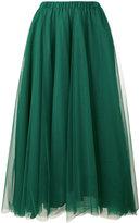 Rochas pleated A-line skirt - women - Polyamide - 38