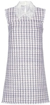 Miu Miu Wool-blend tweed dress