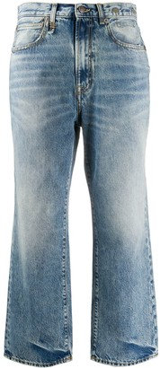 R 13 Royer mid-rise straight jeans