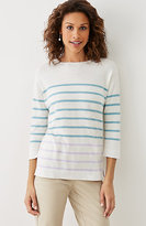J. Jill Striped Sweater
