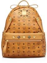MCM Backpack - Stark Medium Dual Pocket Sprinkle Stud
