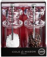 Cole & Mason 505 Clear Precision Salt and Pepper Mill Gift Set