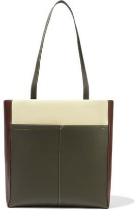 Victoria Beckham Color-block Leather Tote