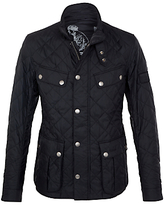Barbour International Ariel Quilted Jacket, Black