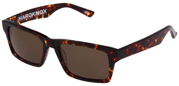 Electric Eyewear Hardknox Polarized (Loveless Collection) (Tortoise Shell/Bronze Polarized) - Eyewear