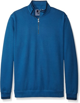 Cutter & Buck Men's Big-Tall Heritage Half Zip Sweatshirt