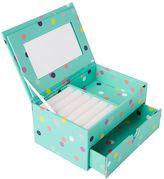 Jane Jewelry Storage, Small Box, Pool Confetti Dots