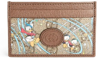 Gucci + Disney Donald Duck Card Holder
