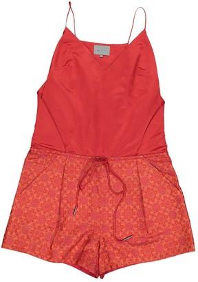 Maiyet Multicolour Silk Jumpsuits