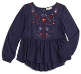 Girl's Tucker + Tate Embroidered Tunic