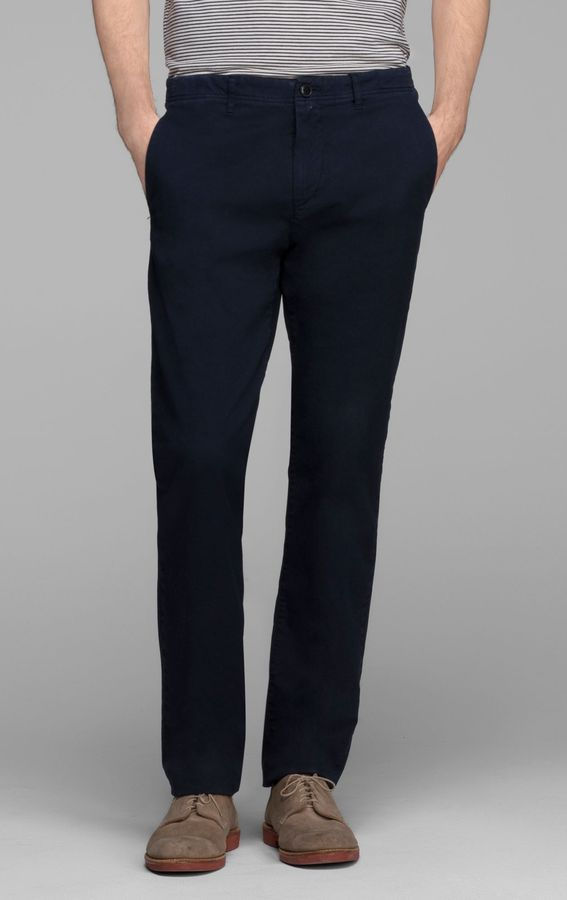 Theory Zaine Pant in Perth Stretch Cotton