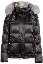 Andrew Marc Convertible Down Coat with Genuine Rabbit Fur & Genuine Fox Fur