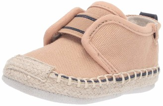 Robeez Baby-Boy's Espadrille-First Kicks Crib Shoe