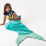 CORLAY Mermaid Tail Blanket With Pocket - Ultra-Soft - All Ages - Plush Blanket - Adult - Teen - Child (All Ages, Mermaid Blue)