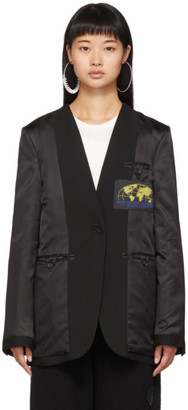 MM6 MAISON MARGIELA Black Inside-Out Blazer