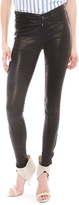 5 Pocket Leather Legging - by J Brand
