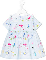 Simonetta floral print dress - kids - Cotton/Polyester - 12 mth