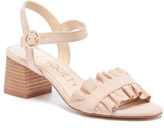 Sole Society Scyler Ruffle Sandal