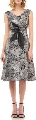 Kay Unger Chloe Fit & Flare Dress