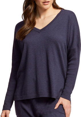Fleurt Cosmopolitan Luxury V-Neck Sweater