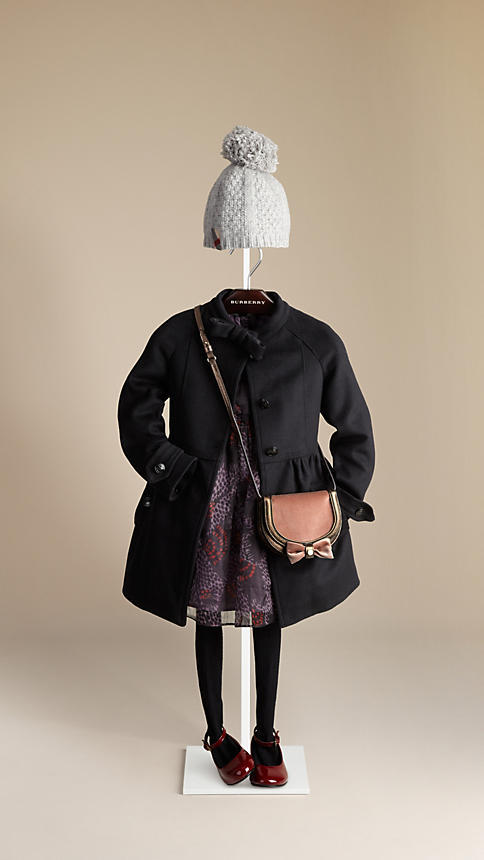 Burberry Bow Detail Coat