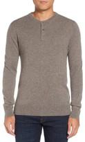 Bonobos Men's Cashmere Henley Sweater