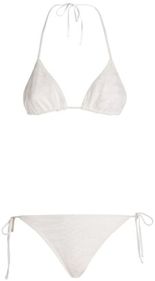 Missoni Triangle Bikini Top