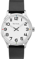 Paul Smith Mens Silver Contrast Classic Watch