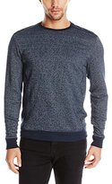 Calvin Klein Men's Griddle Terry Crew Neck Sweatshirt