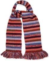 Gucci Striped wool-blend scarf