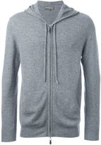 N.Peal hooded zip sweater - men - Cashmere - S