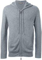 N.Peal hooded zip sweater
