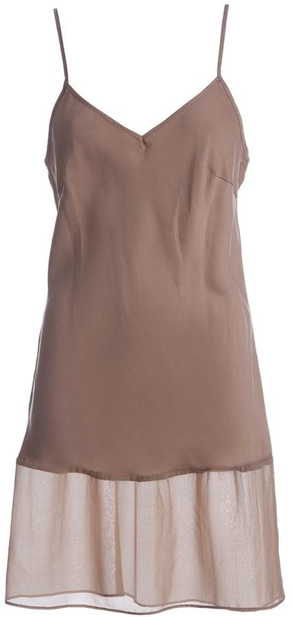 Gold Hawk Silk dress