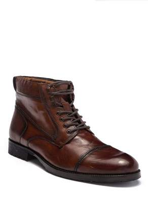 Kenneth Cole Reaction Brewster Leather Lace-Up Boot