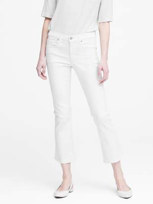Banana Republic Mid-Rise Crop Flare Jean