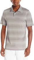 Head Men's Power Striped Performance Polo, Grey Heather