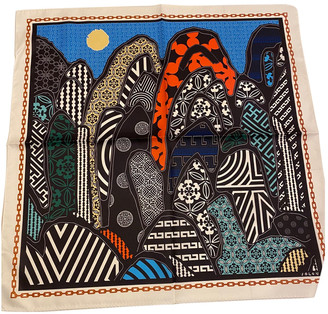 THE VOLON Multicolour Polyester Scarves
