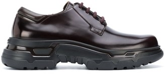 Giorgio Armani Chunky-Sole Derby Shoes