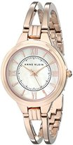 Anne Klein Women's AK/1440RMRG Rose Gold-Tone Bangle Watch