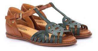 PIKOLINOS Leather Ankle Strap Sandals - Talavera