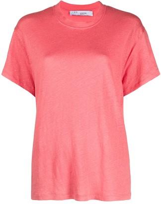 IRO Short-Sleeved Linen T-Shirt