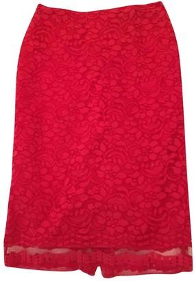 Tara Jarmon Red Skirt for Women