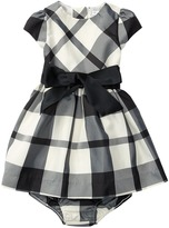 Ralph Lauren Poly Taffeta Plaid Dress Girl's Dress
