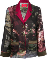 F.R.S For Restless Sleepers - floral print button up top - women - Silk - S