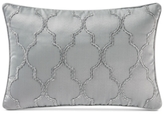 "Waterford Carlisle Platinum 12"" x 18"" Decorative Pillow"