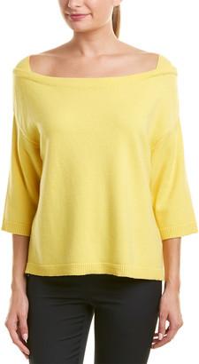 Valentino Boatneck Cashmere Sweater