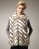 Tasha Tarno Coyote & Rabbit Chevron Vest