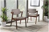 Asstd National Brand Baxton Studio Elegant Mid-Century Modern Armchair