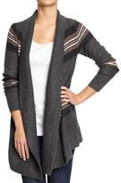 Old Navy Women's Softest Blanket-Wrap Cardis